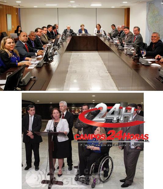 Garotinho reunião com Dilma