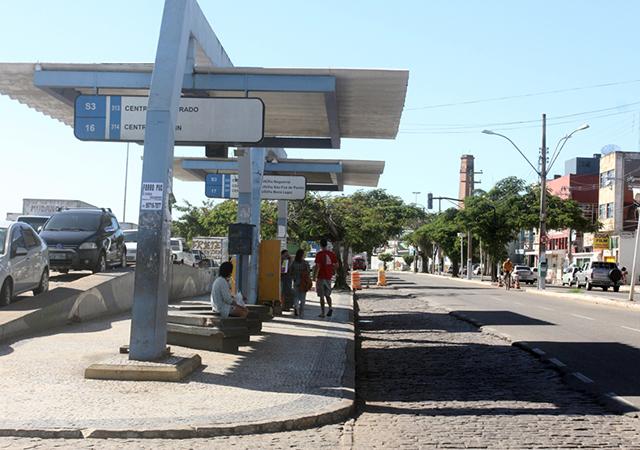 Greve dos funcionários  das empresas de ônibus em Campos- (11)