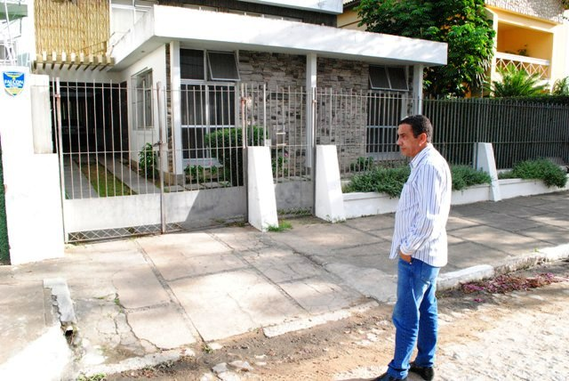 Gilson Gomes casa assaltada