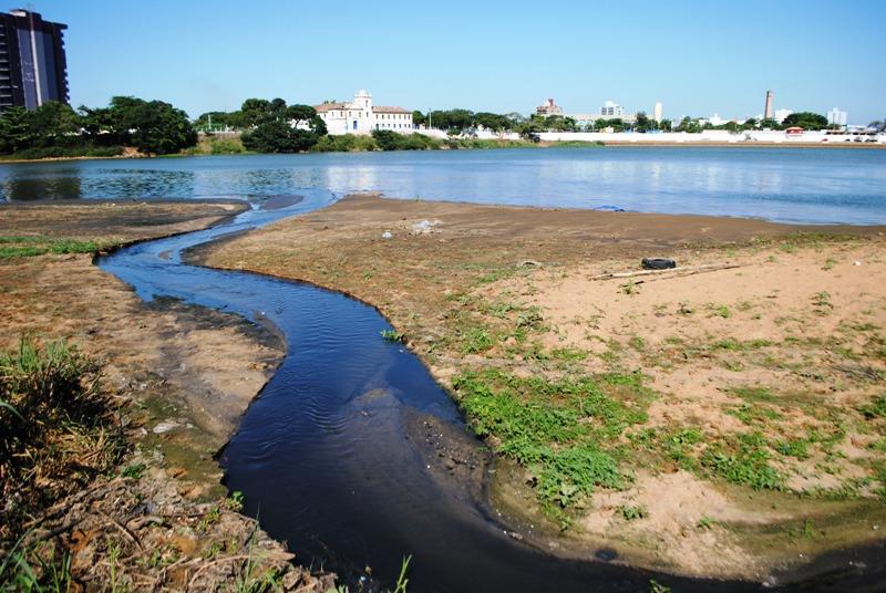 Rio Paraíba esgoto
