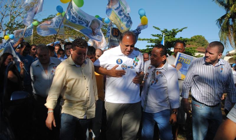 Ibope: Pezão tem 46% e Crivella, 36%