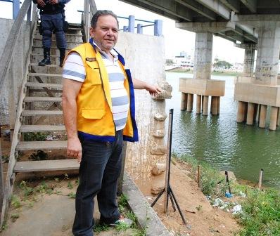 Defesa Civil alerta para risco de afogamento no Rio Paraíba
