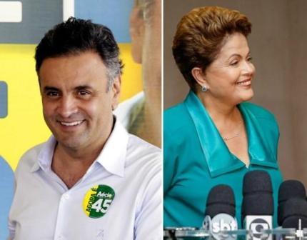 Últimas pesquisas: Ibope aponta vitória de Dilma;  CNT/MDA diz que Aécio pode vencer