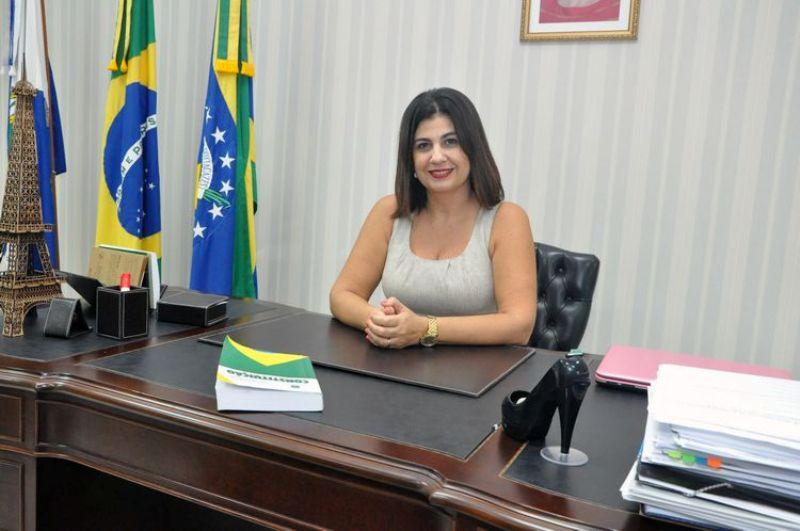 Prefeita Rosinha foto 2015
