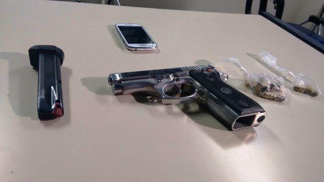 arma pm assassinado
