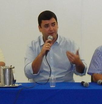 O subsecretário de Governo, Thiago Godoy