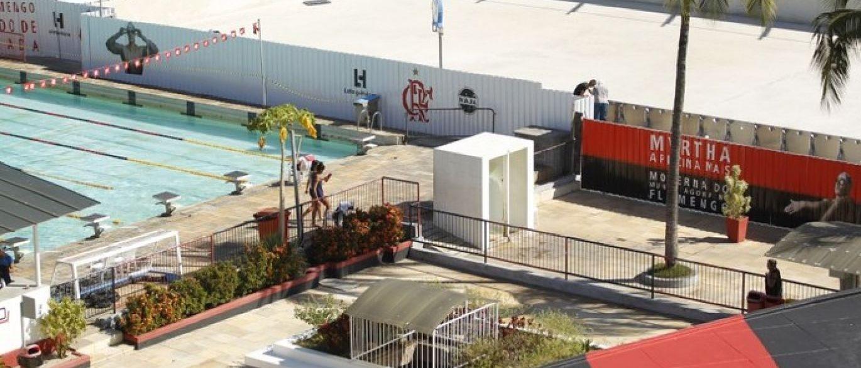 Rio 2016 reforma de piscina que ser usada est atrasada for Piscina 24 horas madrid