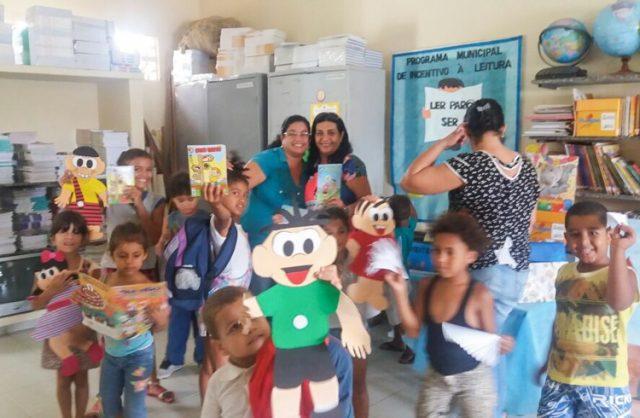 Escolas Usam Gibis Para Incentivar A Leitura Entre Crianças Manoel